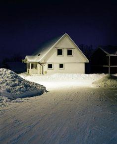 Lars Tunbjörk. Série Vinter