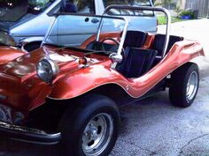 This is almost identical to the car I had for my barbies. awesome  1970 EMPI Imp Dune Buggy