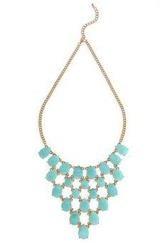 Cato Fashions Shell Bib Statement Necklace #CatoFashions