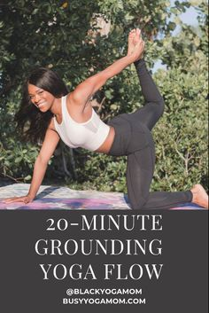 Treat yourself to a rrlaxing full body stretch with this grounding yoga flow. Asana Yoga Poses, Yoga Sequences, Beginner Yoga, Yoga For Beginners, Fit Board Workouts, At Home Workouts, Yoga Fitness, Health Fitness, Body Stretches