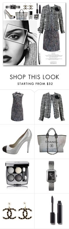 """""""Untitled #132"""" by missuwa ❤ liked on Polyvore featuring Chanel"""