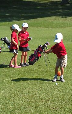 Junior Golfers at Evansville Country Club