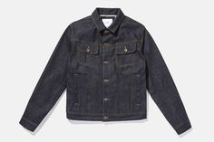 Emil Cone Denim Jacket, Raw Indigo
