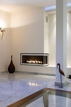 Ortal Clear 130 RS/LS Fireplace modern fireplaces