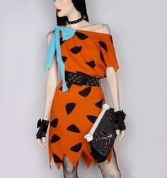 Flintstone costume Disfraces Picapiedras d316f142e7c