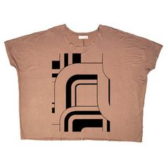 Art Deco Shirt Brown, $39, now featured on Fab.