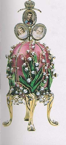 lily of the valley Faberge'. a dream.