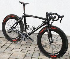Feathery Carbon Rennrad - Rahmen.