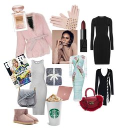 Spb November by kristina-shirrime on Polyvore featuring polyvore, fashion, style, Dolce&Gabbana, Versace, Balmain, UGG, Chloé, SALAR, Valentino, Incase, NARS Cosmetics, Giorgio Armani and clothing