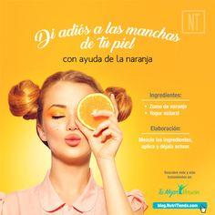 Todos conocemos los beneficios que la naranja aporta a nuestra salud, pero… ¿sabes que es una excelente aliada para tus tratamientos de belleza? ¡No te pierdas los tratamientos con naranja que te proponemos hoy en Tu Mejor Versión!