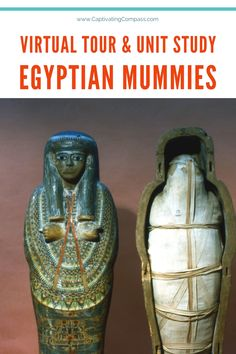 This Egyptian Mummies Unit Study is a fun study to do together as a family. Grab the unti study & go on a virtual museum tour! Avalalbe now.