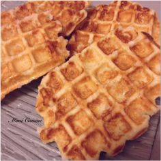 Gaufres liégeoises by thermomix