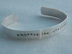 Embrace the Challenge Bracelet