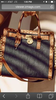 Michael Kors Summer - Look 2014 I just bought me this exact purse and matching wallet  and I love it..