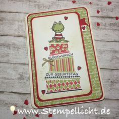 Stempellicht: Cake Crazy mit Frosch aus Love you Lots