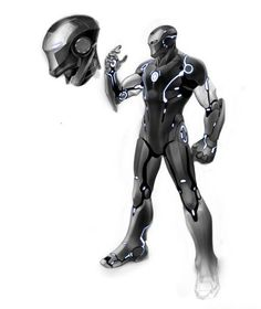 Another Marvel NOW! Iron Man Armor by Carlo Pagulayan