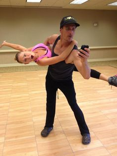 Kym Johnson & Ingo Rademacher -  Dancing with the Stars  -  Week 1  -  season 16  -  spring 2013  -  rehearsal