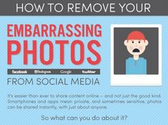ONE: Infografía: ¿Cómo remover las fotos embarazosas de las Redes Sociales?