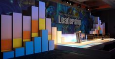 Stage decor for religious conference - Google Search