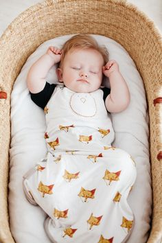 14ecdd1d64f Zen Sack™ Premier - Friendly Fox   3-6 months