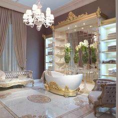#Warm #bathroom Magical Interior European Style Ideas