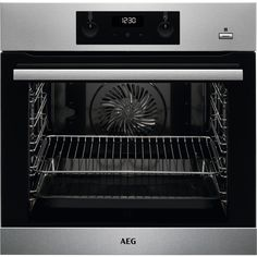 HGB64420YM   AEG Gas Hob   4 Burners   ao.com Built In Electric Oven, Single Electric Oven, Single Oven, Stainless Steel Grades, Stainless Steel Oven, Grilled Spare Ribs, Best Oven, Smeg, Pastries
