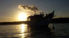 @ iris charters with beautiful sunset..