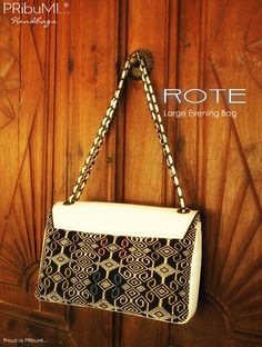 ROTE Large Evening Bag by PRibuMI...®
