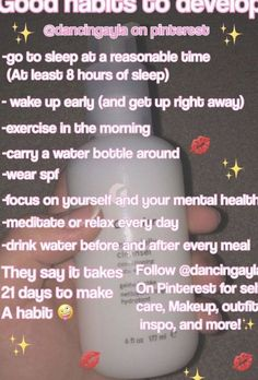 Self care routine Girl life hacks Self care Glow up tips Beauty routines Sk Daily Beauty Routine, Self Care Routine, Skincare Routine, Good Skin Care Routine, Beauty Hacks Skincare, Daily Routines, Makeup Routine, Life Hacks Español, House Hacks