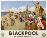 Blackpool in it's glory days.