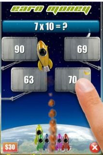 Math app for kids -- Oh how we all love Rocket Math!