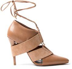 Alexander Wang Mila Lace Up Heel on shopstyle.com