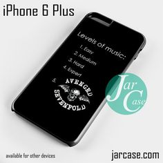 Avenged Sevenfold Fan Quotes 2 Phone case for iPhone 6 Plus and other iPhone devices