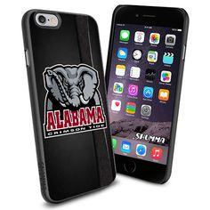 "NCAA-Alabama_Crimson_Tide, iPhone 6 4.7"" Case Cover Protector for iPhone 6 TPU Black Rubber Case SHUMMA http://www.amazon.com/dp/B011SCGX0Y/ref=cm_sw_r_pi_dp_VxOhwb1ZC1PSY"