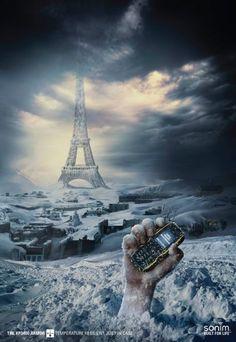 Sonim XP3400 Armor: End of the World, Snow