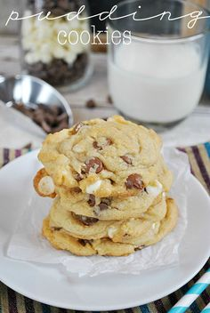 All time BEST pudding cookies - flavors and additives can be substituted and maintains texture/shape when shipping.