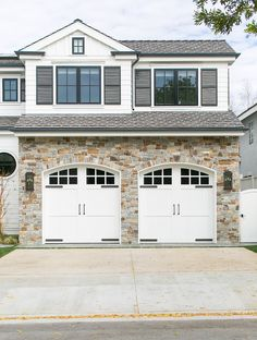 1000 images about garages and driveways on pinterest for Cape cod garage doors