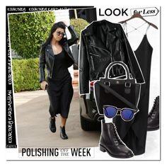 """""""Celebirty Style: Kourtney Kardashian"""" by vanjazivadinovic ❤ liked on Polyvore featuring Yves Saint Laurent"""