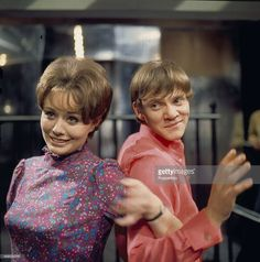 1967 - English actor Malcolm McDowell pictured with actress Sarah-Jane Gwillim in a scene from the television drama 'Sat'Day While Sunday' in 1967.