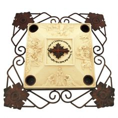"""Abbey Press """"Star of Christmas"""" Advent Candleholder - Religious Gift * Find out more about the great product at the image link. (This is an affiliate link) Christmas Candle Holders, Christmas Candles, Religious Gifts, Advent, Candleholders, Stars, Frame, Image Link, Home Decor"""