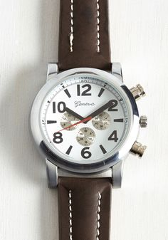 Tick With the Plan Men's Watch