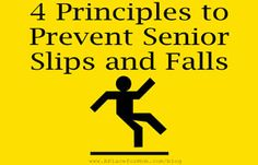 Focusing on fall prevention can help decrease the risk of potential life-altering accidents.
