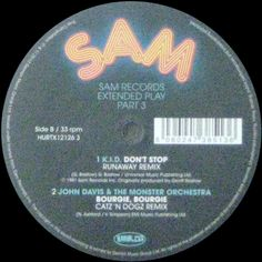Various - Sam Records Extended Play Part 3