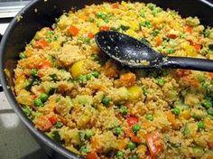 Kuskus s dýňovými semínky - Couscous, Quinoa, Fried Rice, Spaghetti, Cooking, Ethnic Recipes, Food, Africa, Bulgur