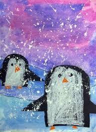 Image result for kindergarten winter art lessons