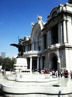 Palacio de #BellasArtes #Mexico #DF