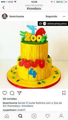 Zoo Da Zu, Madagascar, Yuri, Party Time, Biscuit, Safari, Birthday Cake, Food, Decor