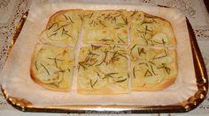 Ricetta schiacciata (focaccia) con patate e rosmarino