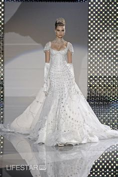 ZUHAIR MURAD ~ Diamonds are forever collection. I love this dress!