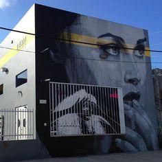 RONE_in Wynwood. #streetart #miami